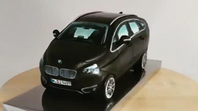 This is how a 3D BMW cake is made