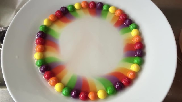 Rainbow Magic with Skittles Candies!