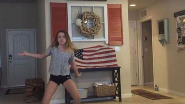 Cowboy Dad Catches Daughter Dancing  When He Joins In Hilarity Ensues