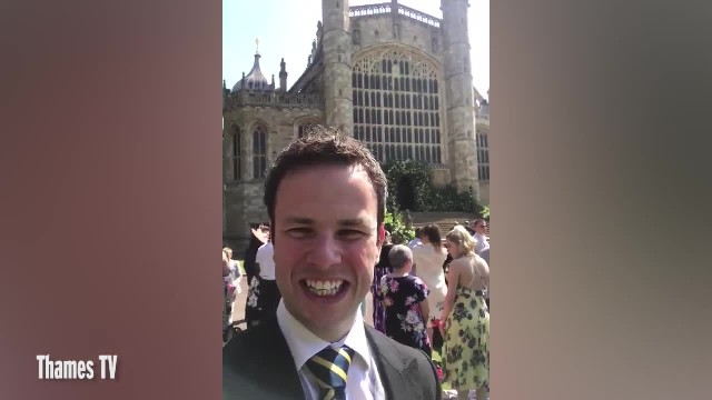 BGT CONTESTANT GOES BEHIND THE SCENES AT THE ROYAL WEDDING