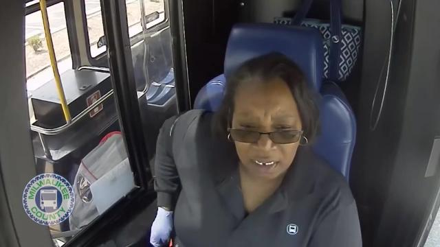 MCTS Driver Saves Little Boy Who Wandered Away from School