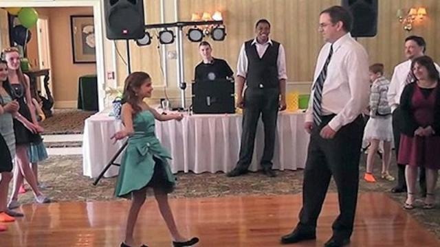 Best Father Daughter Dance Ever - Comedian Mike Hanley and his