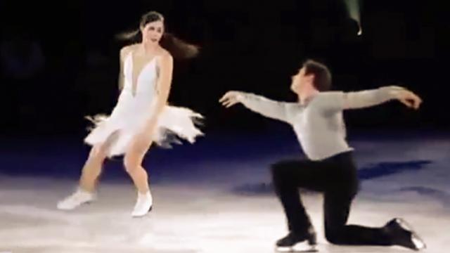 Stars On Ice Hamilton 2012 - Tessa Virtue and Scott Moir Hallelujah