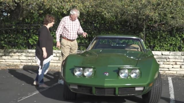 1973 Corvette Stingray Surprise Dad!