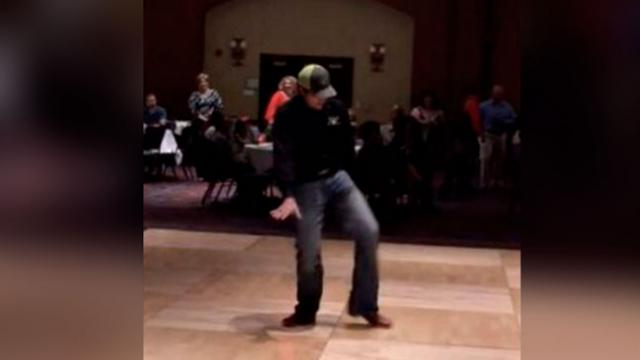 Dancing Deejay Clears Dance Floor With Epic 'Footloose' Performance