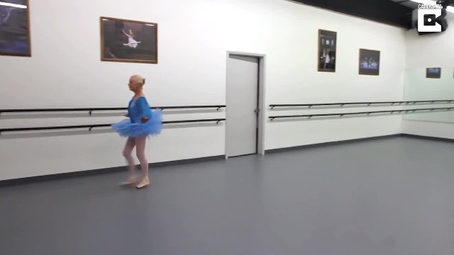 Amazing 77-year-old ballerina still on her toes and teaching ballet classes