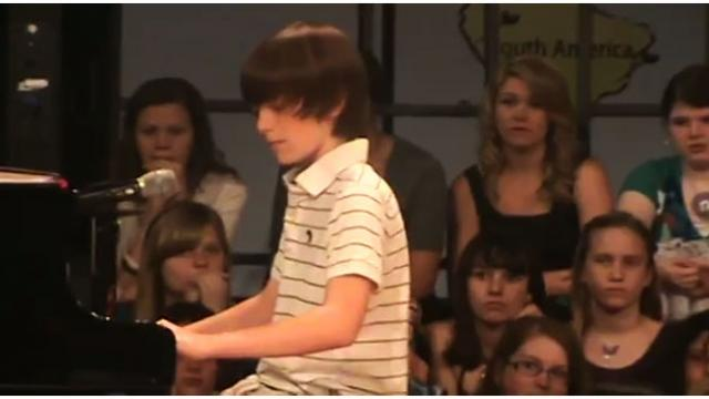 6th Grader Wows Classmates With His Stunning Cover Of This Lady Gaga's Hit Song