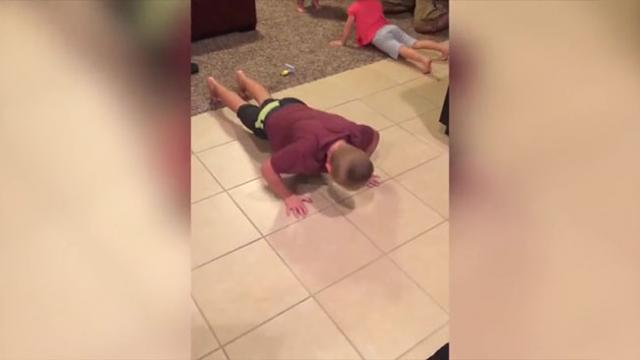 The Funniest Videos Of Babies Working Out Are Right Here