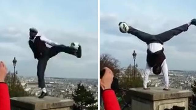 You wont believe what this guy can do with a soccer ball