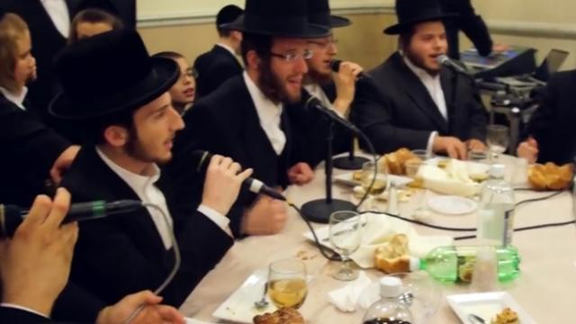 Stunning Choir Sings In Perfect Harmony At Bar Mitzvah