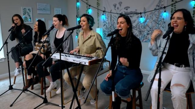 6 hermanas interpretan la versión de You Say de Lauren Daigle
