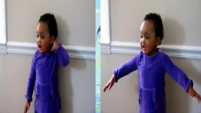 Dad Asks His 17 Month Old To Sing A Song. Is What She Does Next Even Possible