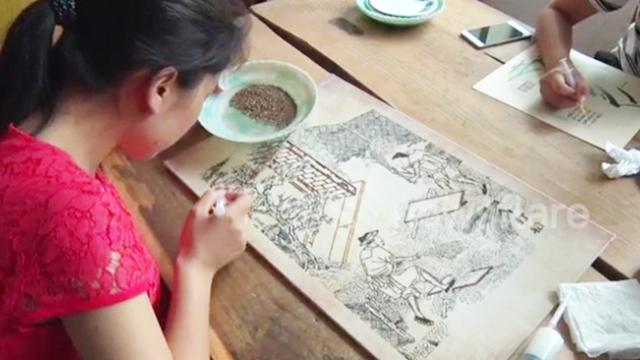 Chinese artist uses cereal to create amazing and breathtaking images