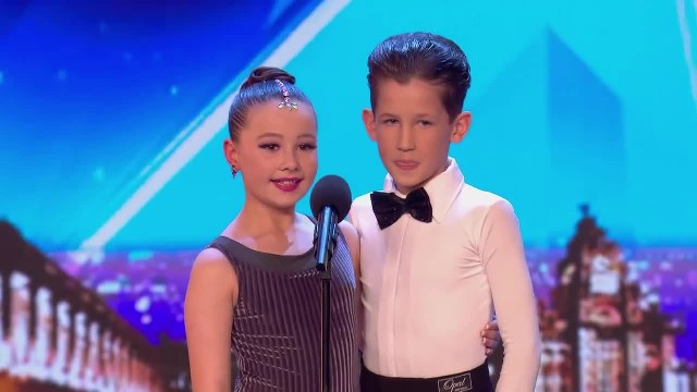 Young Ballroom Dancing Duo Wow Judges With Their Spunky Performance