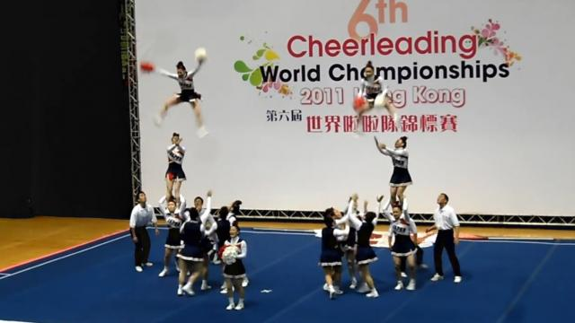 Team Japan All Female 6th World Cheerleading Championship 2011