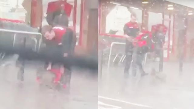 UNILAD - Good Guy's Incredible Gesture To Dog Caught In Storm - Facebook