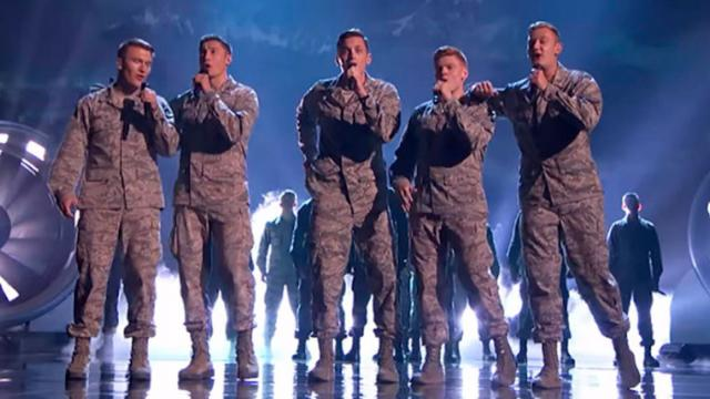 15 Cadets Get In Front Of Judges 1 Minute Later They Hit A Note That Drives The Crowd Crazy