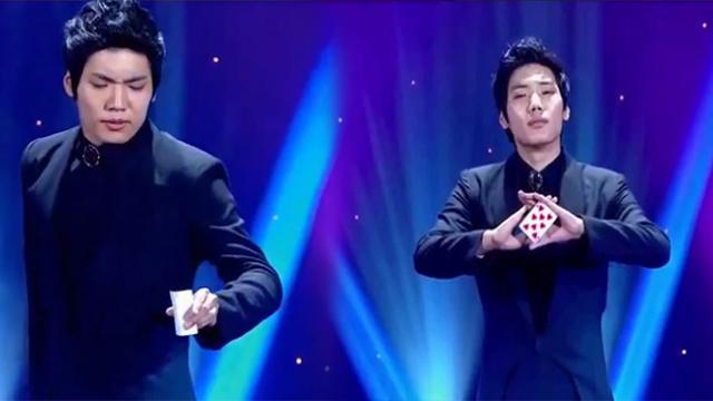 The best magic performance from attitude to talent of a hot Korean Boy - So eye-catching !