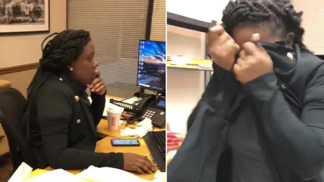 Womans Priceless Reaction After Passing Bar Exam Goes Viral