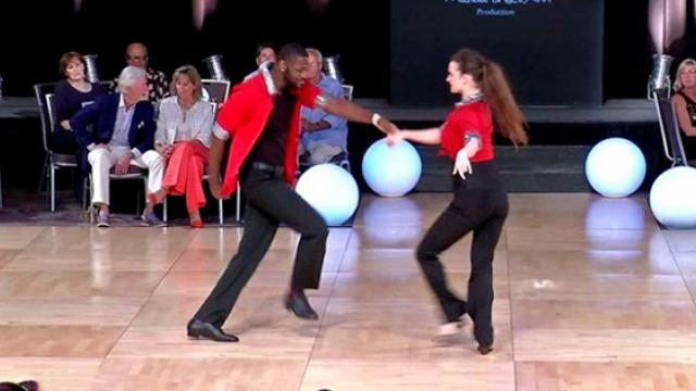 Couple Stuns Crowd By Swing Dancing To 'Play That Funky Music' – Here's How The Judges Respond