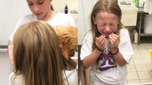 Girl Heartbroken When She Finds Out Dream Puppy Already Sold, Stunned When They Say it's Hers