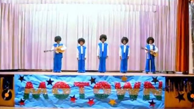 Little Kids Kick Off A Funky Classic- Leave The Crowd Screaming For More