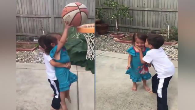 Little Boy Does The Sweetest Thing To Show Hes The Best Big Brother Ever