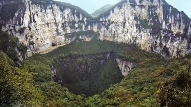 Un gigantesco pozo en China revelo algo extraordinario - Video