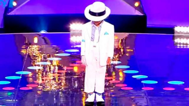'Mini King Of Pop' Wows The Crowd During His Audition