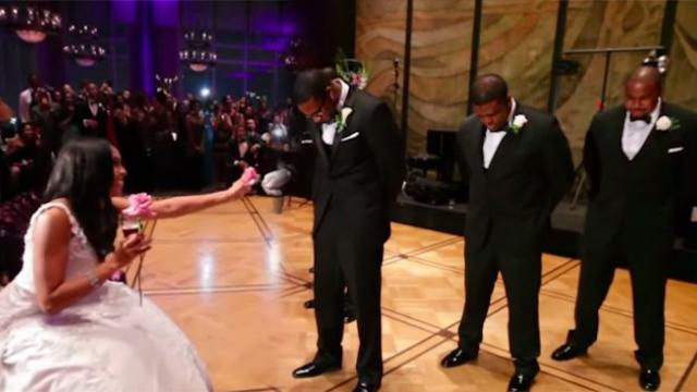 Groom Surprises Bride With Incredible Performance Of 'My Girl'