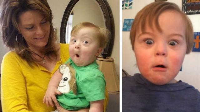 All Kids Are Cute When They Recite Their ABCs, But This Toddler With Downs Takes The Cake_Large