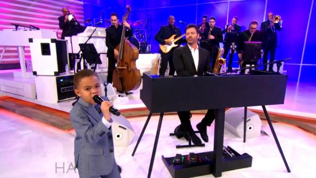 5-Year-Old Gospel Singer Performs Pass Me Not, O Gentle Savior