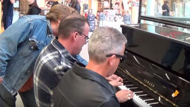 3 Men Play Boogie Woogie On 1 Piano– InspireMore