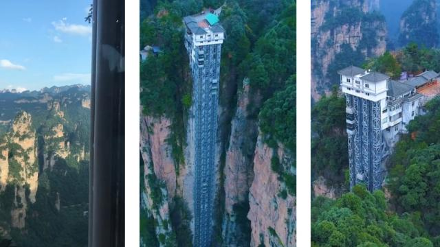 "旅游精品 - Hunan Zhangjiajie scenic spot, the movie ""Avatar"""
