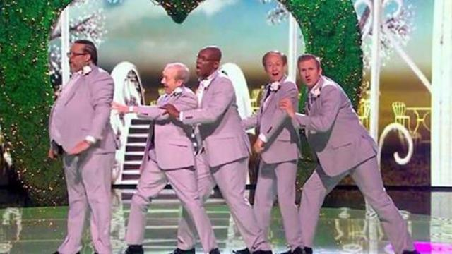 Can Old Men Grooving seal the deal- - Grand Final - Britains