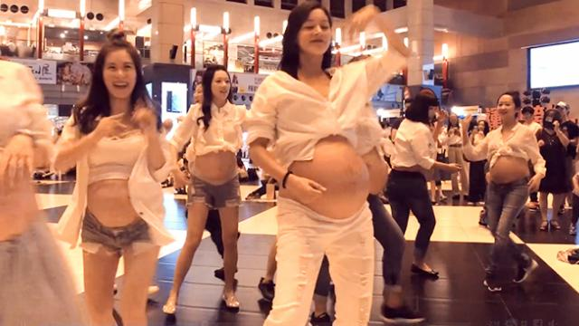 Video: This pregnant women flash mob dancing to Despacito is SUPER-COOL!