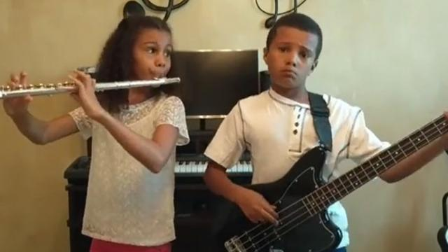 9 & 10-Yr-Old Siblings Cover Earth, Wind, & Fire —