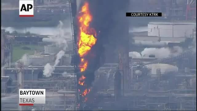 Estalla incendio en refinería de Exxon cerca de Houston