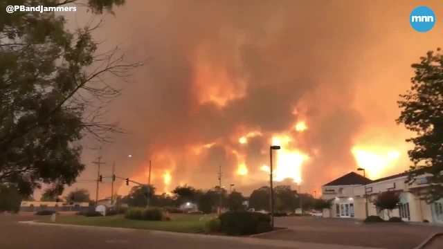 Massive wildfire in Northern California called the 'Carr Fire' causing major damage