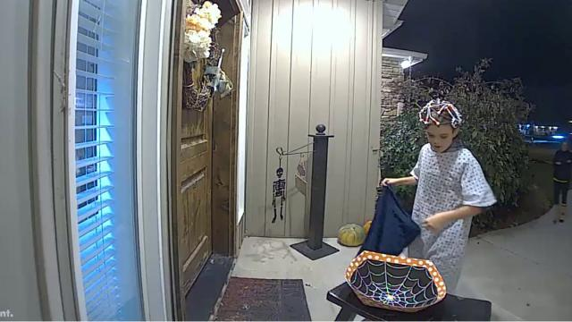 Holiday Recap Watch Boys Secret Act of Kindness When He Finds Empty Bowl of Halloween Candy