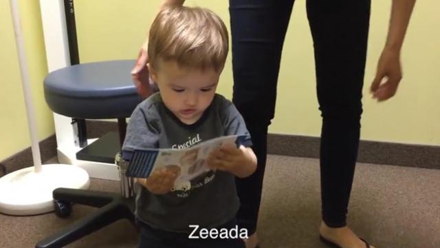 Toddler Won't Run Out Of Things To Say Anytime Soon!