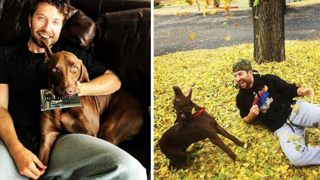 Country Star Serenades Best Friend To Sleep In His Lap & We're Officially In Love.