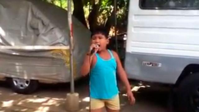 Amazing Filipino Boy Sings Righteous Brothers Unchained Melody