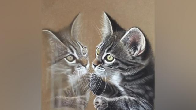 I Just Love Watching This Amazing Artist Create These Hyper-Realistic Drawings On Wooden Boards