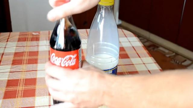 What Happens When Coke Is Mixed With Milk