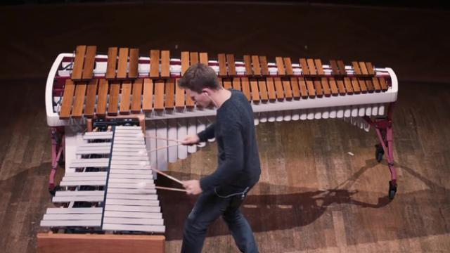 WATCH A Superb Xylophone Performance by Christoph Sietzen