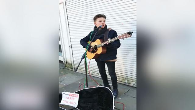 This Talented 15-Year-Old Kid Performing Hallelujah Will Make Your Day