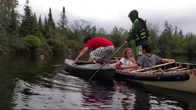 Canoe In Epic Lake Fail