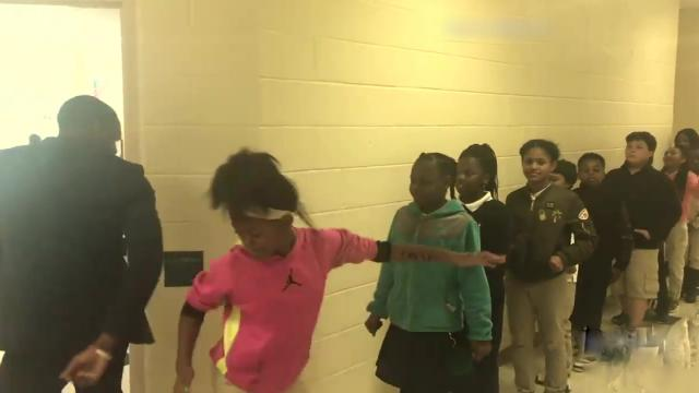Teacher Has Incredible Handshakes With Each Student _ ABC