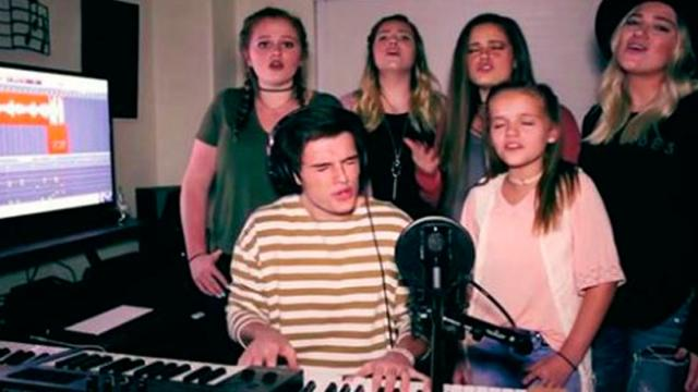 Siblings Perform Stunning Hallelujah And Amazing Grace Mash Up Thats Leaving The Internet Speec